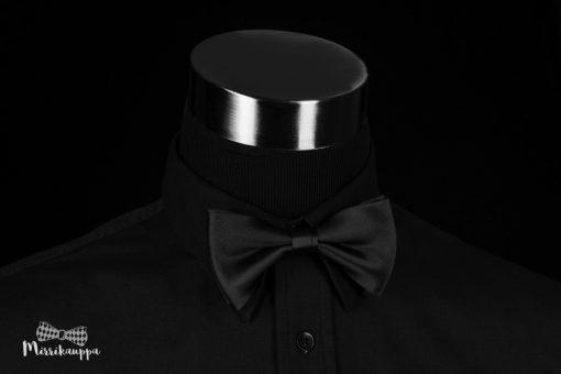 musta-silkkirusetti-miesten-pukeutuminen-mirri-solmuke-asuste-bow-tie-mirrikauppa